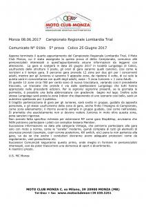 MC Monza Comunicato stampa 5° prova Colico Gara reg Lombardia (2)1